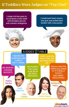 If Toddlers Were Judges on 'Top Chef'