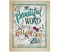 Beautiful Word NIV Coloring Bible