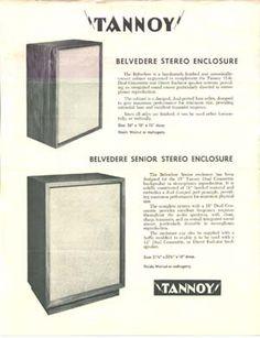 "Tannoy Dual Concentric 15"" Speakers"
