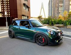 2018 British Racing Green JCW | Mini Cooper Forum Mini Cooper Tuning, Mini Cooper Works, New Mini Cooper, John Cooper Works, Cooper Cars, Mini Cooper Accessories, Yamaha Bikes, Motorcycles, Mini Chopper