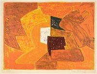 Komposition in Orange von Serge Poliakoff