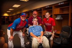 Dr. Scott Mackler and the Phillies, both have done so much to help the fight against ALS.