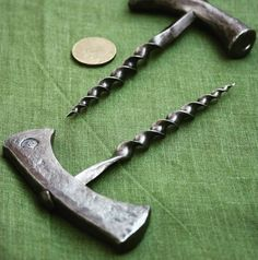 bottle-screw #forged #corkscrew #handwork