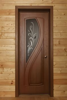 This passage door resembles an elegant swan with smooth curves and mature grace. This passage door resembles an elegant swan with smooth curves and mature creative ways to transform an old door - Shabby Chi. Pooja Room Door Design, Bedroom Door Design, Door Gate Design, Door Design Interior, Wooden Front Door Design, Modern Wooden Doors, Entry Doors, Design Case, Internal Doors
