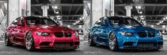 His and Hers. #BMW #E92 #M3