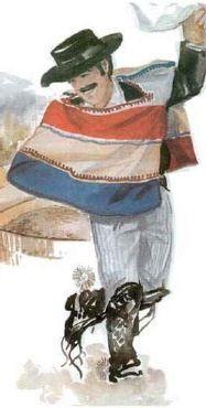 huaso chileno | the vintage poster version