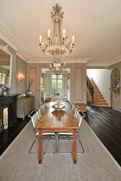 'Nottinghill House.' Elizabeth Bowman, interior design, London.