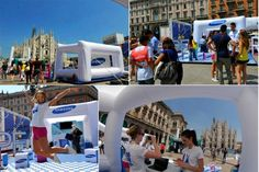 "Marco Azzolini » Stand per Samsung ""HOPE RELAY"""
