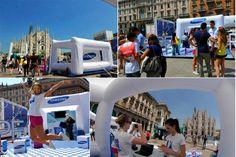 "Marco Azzolini » Stand per Samsung ""HOPE RELAY"""