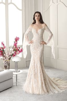 Demetrios Collection Bridal Dresses: Every design pays close attention to detail and quality, giving each Demetrios wedding dress its signature touch Stunning Wedding Guest Dresses, Western Wedding Dresses, Lace Wedding Dress, Classic Wedding Dress, White Wedding Dresses, Wedding Dress Styles, Bridal Dresses, Wedding Gowns, Girls Dresses
