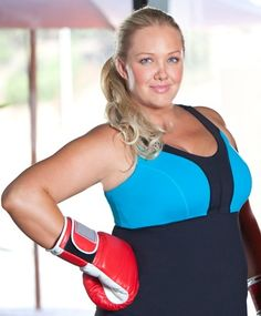 Plus size active wear, workout, and exercising clothes for the active plus size girl.