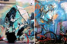 alice pasquini street art | Alice Pasquini The Affectionate Street Art of Alice Pasquini