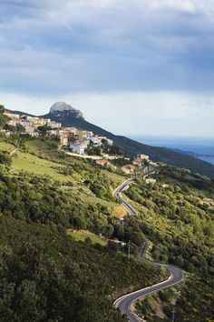The Historic Coastal Town Of Bosa, Sardinia, Italy