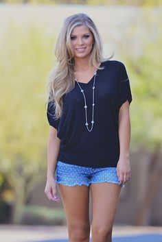 Twinkle In Your Eye Top - Black from Closet Candy Boutique