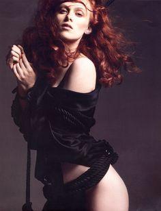 Karen Elson by David Sims for Vogue Paris Calendar 2007
