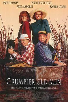 If you can get past the incredible idea that Sophia Loren would find Walter Mathau attractive, you'll laugh your way through this sequel to Grumpy Old Men.