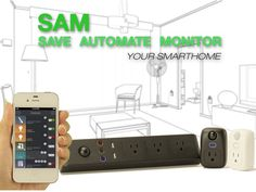 SAM: The Smartest Smart Home Technology by SensePlug.io — Kickstarter.  Easy and affordable Plug-in and Go technology helps you Save, Automate and Monitor in your smart home.