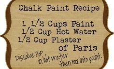 The Vintage Farmhouse chalk paint