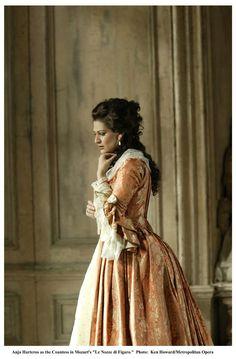"Anja Harteros as Countess Almaviva ""Le Nozze di Figaro"" by Wolfgang Amadeus Mozart."