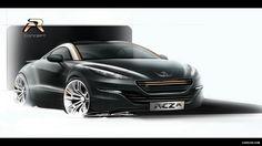 Peugeot rcz look mode