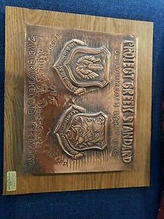 Find many great new & used options and get the best deals for US Air Force USAF PROJECT GREEK STANDARD Copper Award Plaque at the best online prices at eBay! Free shipping for many products!