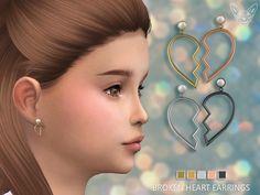 feyona's Broken Heart Earrings For Kids