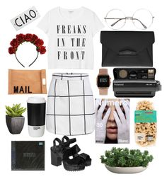 """""""832"""" by overy ❤ liked on Polyvore featuring Monki, Givenchy, Polaroid, ASOS, Hunkydory, Akira, ROOM COPENHAGEN, Crate and Barrel and Rosanna"""