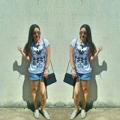 #look #verão #tshirt