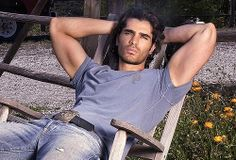 Eduardo Verastegui - I don't know who this dude is, but he could be a Christian Grey!
