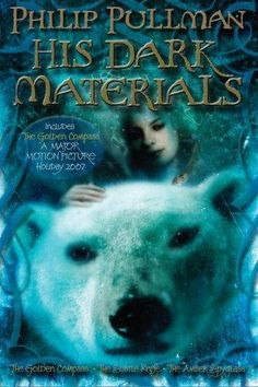 His Dark Materials: The Golden Compass, The Subtle Knife, The Amber Spyglass by Philip Pullman. My favorite books I've ever read! Great Novels, Great Books, The Golden Compass Book, His Dark Materials Trilogy, The Book Of Dust, Books To Read, My Books, Philip Pullman, Book Series