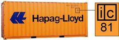 ic-codes on shipping container