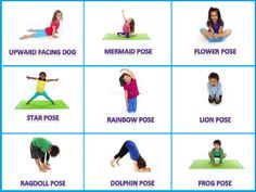 100 Best Yoga Poses For Kids Images Yoga Poses Yoga Yoga For Kids