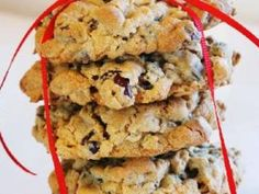 oatmeal and cranberry cookies recipes | Oatmeal Cranberry Chocolate Spice Cookies
