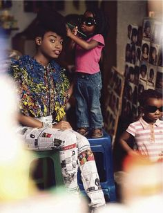 AADAT » Art, Fashion, Film, Music, AfricaSharleen Dziire For Elle South Africa January 2013 - AADAT