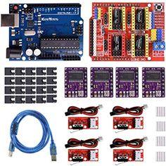 Kit Controller RAMPS 1.4 5 Driver DRV8825 stampante 3D prusa Mendel shield CNC