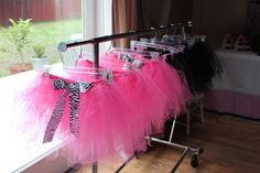 Tutus for Barbie party by The Glitter Shoppe on Etsy  - https://www.etsy.com/shop/TheGlitterShoppe