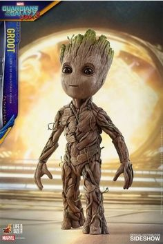 Groot Life-Size 1:1 MMS Actionfigur [Guardians of the Galaxy Vol. 2 ] 26 cm - Movie