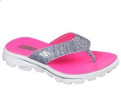 9114531db Skechers Women s Go Walk Move Solstice  Sandal (9 B(M) US