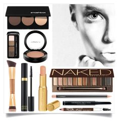 """""""Nude Mood"""" by sixthandsocial on Polyvore featuring beauty, Smashbox, Too Faced Cosmetics, MAC Cosmetics, Urban Decay, Christian Dior, Maybelline, tarte, Tom Ford and Guerlain"""