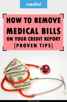 Worried about medical bills destroying your credit? Find out how they affect your credit scores & what you can do to prevent them from damaging your c How To Fix Credit, My Credit Score, Improve Your Credit Score, Credit Cards, Repairing Credit Score, Chase Credit, Build Credit, Money Tips, Money Saving Tips