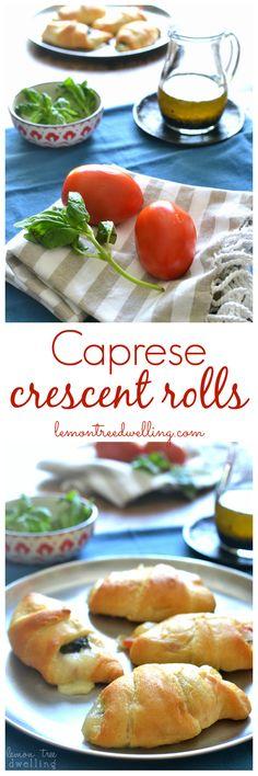 Caprese Crescent Rolls | Lemon Tree Dwelling