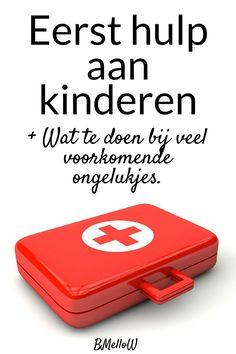 Eerste hulp aan kinderen. Heb jij al eens een EHBO cursus gevolgd? Of nog specifieker voor kinderen? Wat te doen bij veel voorkomende ongelukjes.