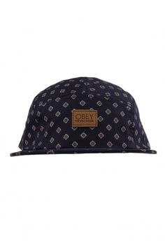 Obey Clothing Stately 5-Panel Hat - Navy $28.00 #obey
