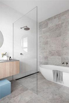 Wet Room Bathroom, Modern Master Bathroom, Family Bathroom, Bathroom Layout, Modern Bathroom Design, Bathroom Interior Design, Bathroom Faucets, Small Bathroom, Minimalist Bathroom Design