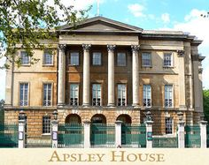 Apsley House, featured in Tahir Shah's Regency novel Timbuctoo | www.timbuctoo-book.com