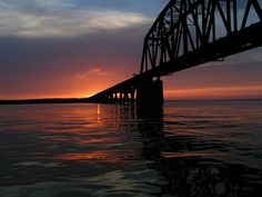 Lake Texoma Sunset by okwest, via Flickr