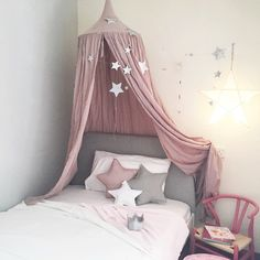 Think Antoinette and Paris grey #annieslone Making that Ikea bed look super luxe