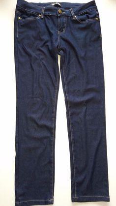 Leggings Jeggings Tregging Röhre Stretch Jeans Look Hose Stretch Gr.38/40 Blau in Kleidung & Accessoires, Damenmode, Leggings   eBay!