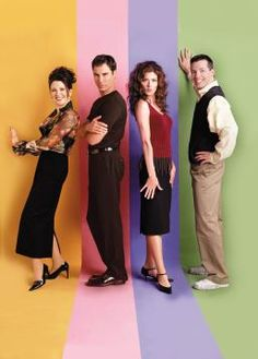 Will & Grace, the only sitcom I love with all my heart.