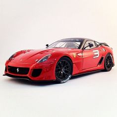 Supercar heaven with the Ferrari 599XX